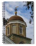 Charleston Round Dome Spiral Notebook