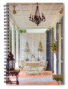 Charleston Side Patio Spiral Notebook