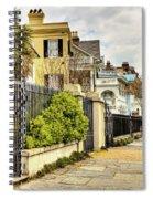 Charleston Sidewalk Spiral Notebook