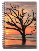 Charleston South Carolina Edisto Island Beach Sunrise Spiral Notebook