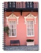 Charleston South Carolina - The Mills House - Art Deco Architecture Spiral Notebook