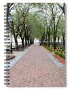 Charleston Waterfront Park Walkway Spiral Notebook