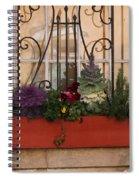 Charleston Window Garden Spiral Notebook