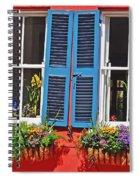 Charleston Windows Spiral Notebook