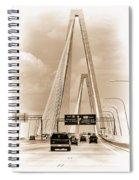 Charleston's Arthur Ravenel Jr. Bridge Spiral Notebook