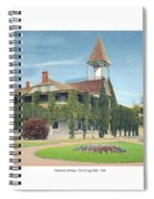 Charlevoix Michigan - The Chicago Club - 1908 Spiral Notebook