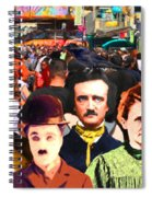 Charlie And Friends Tries To Blend In With The Crowd 5d23867 Spiral Notebook