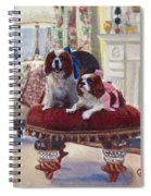 Charlie And Lizzie Spiral Notebook