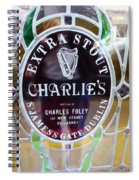 Charlie's Own Spiral Notebook