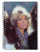Charli's Angels Kate Jackson Farrah Fawcett Jaclyn Smith Spiral Notebook