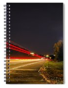 Charlotte City Airport Entrance Sculpture Spiral Notebook