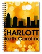 Charlotte Nc 3 Spiral Notebook