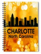Charlotte Nc 3 Squared Spiral Notebook