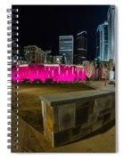 Charlotte Skyline Spiral Notebook