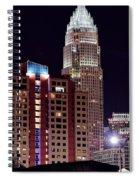 Charlotte Skyscraper Spiral Notebook