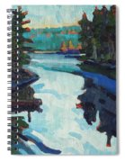Charlton Lake Camp Sunrise Spiral Notebook