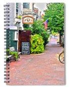 Charming Nantucket Spiral Notebook