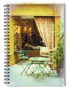 Charming Street Still Life Spiral Notebook
