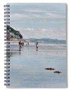 Charmouth Beach 2 Spiral Notebook