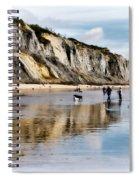 Charmouth Beach Spiral Notebook