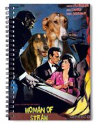 Chart Polski Art - Woman Of Straw Movie Poster  Spiral Notebook