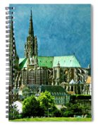 Chartres Cathedral Spiral Notebook
