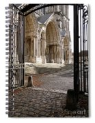 Chartres Cathedral North Transept Spiral Notebook