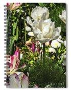 Chartres Garden White Spiral Notebook