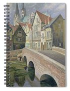 Chartres Spiral Notebook