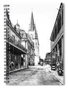 Chartres St In The French Quarter 3 Spiral Notebook