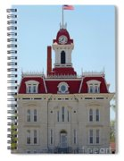Chase County Courthouse In Kansas Spiral Notebook