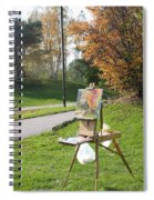 Chasing The Autumn Colors Spiral Notebook