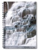 Chasing Waterfalls Spiral Notebook