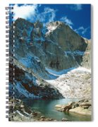 Chasm Lake Spiral Notebook