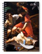 Chastisement Of Cupid  Spiral Notebook