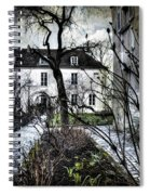 Chat Noir Gallery Paris France Spiral Notebook