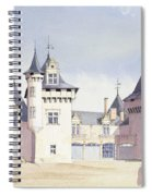 Chateau A Fontaine Spiral Notebook