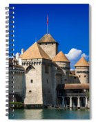 Chateau Chillon Spiral Notebook