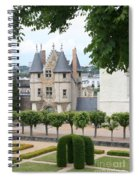 Chateau D'angers - Chatelet View Spiral Notebook