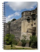 Chateau D'angers - The Keep Spiral Notebook