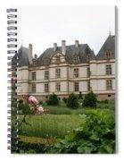 Chateau De Cormatin Garden Spiral Notebook