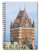 Chateau Frontenac Quebec City Canada Spiral Notebook
