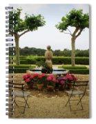 Chateau Malherbe Fountain Spiral Notebook