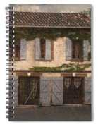 Chateau No 1 Rue Moulins France Spiral Notebook