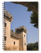 Chateau Of King Rene, France Spiral Notebook