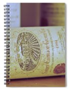 Chateau Tour Saint Pierre Spiral Notebook
