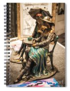 Chatting Ladies Of Royal Street Spiral Notebook
