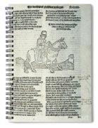 Chaucer: Prologue Spiral Notebook