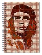 Che Guevara Digital From Watercolor Painting Spiral Notebook