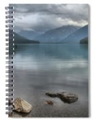 Cheakamus Lake - Squamish British Columbia Spiral Notebook